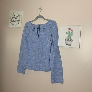 Express Sweaters - Express Pastel Blue Sweater